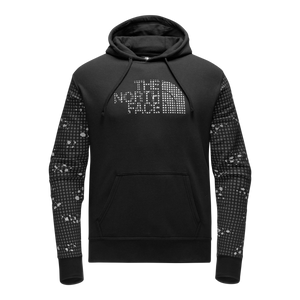 MEN'S TNF REFLECTIVE HALF DOME PULLOVER HOODIE