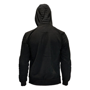 MEN'S QUILTED FULL-ZIP HOODY