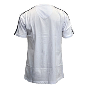 MEN'S STRIPED SHOULDER TEE