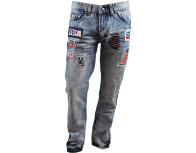 MEN'S RACING PATCH JEAN
