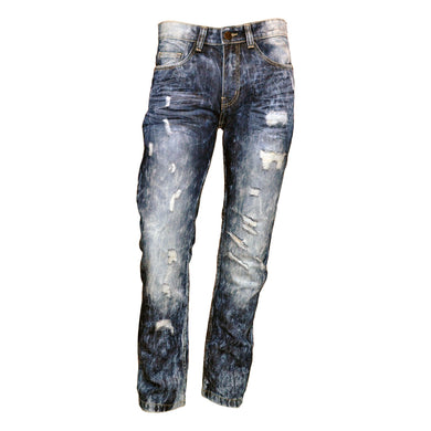 MEN'S AGED WASHED REPAIR JEAN
