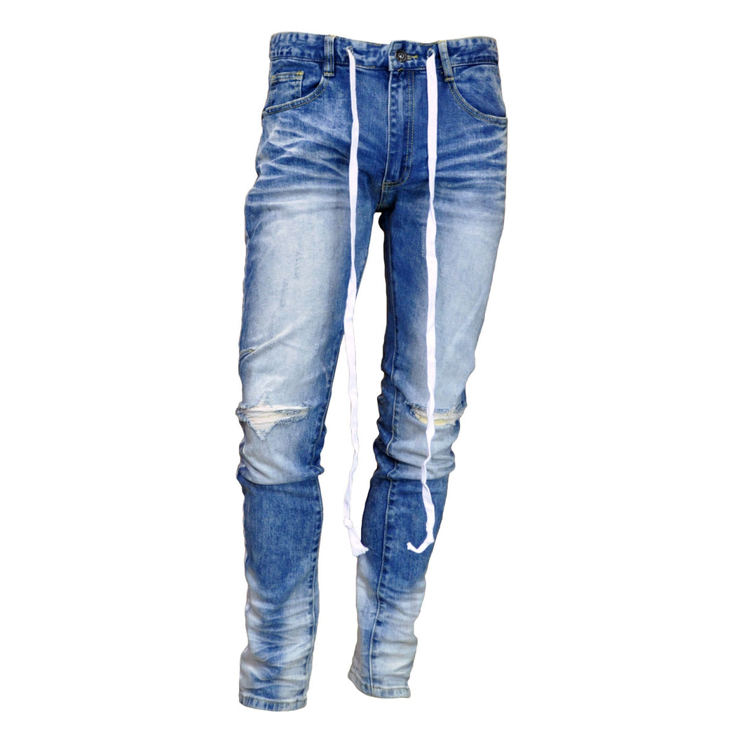 MEN'S SIDE STRIPE DRAWSTRING JEAN