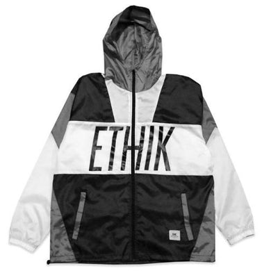 MEN'S ETHIK TRAINING CAMP WINDBREAKER 'GREYSCALE'