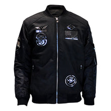 MEN'S COATED PATCHES JACKET