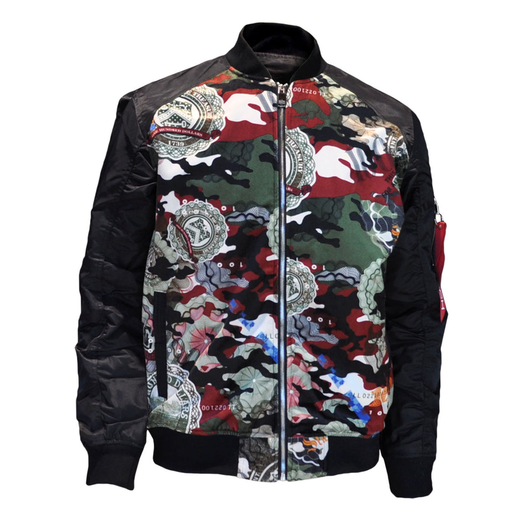 MEN'S CAMO SUEDE JACKET