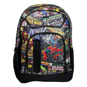 COMIC BLACK BACKPACK