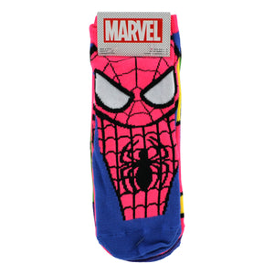 WOMEN'S SPIDERMAN 5-PK SOCKS