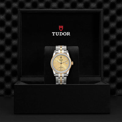 Tudor Glamour Date M55003-0006 Bandiera Jewellers Vaughan