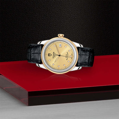Tudor Glamour Date M55003-0051 Bandiera Jewellers Vaughan