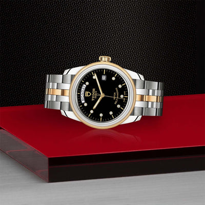 Tudor Glamour Date+Day M56003-0008 Bandiera Jewellers Vaughan