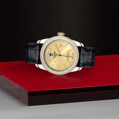 Tudor Glamour Date+Day M56003-0024 Bandiera Jewellers Vaughan