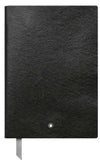 Montblanc Fine Stationery Notebook #146 Black, lined MB113294