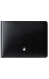 Montblanc Meisterstuck Wallet 6cc with Money Clip (Black) MB126204
