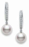 Mikimoto Earrings Classic Elegance Akoya Cultured Pearl PEA1008DW