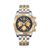 BREITLING Chronomat 44 Steel and Gold CB0110121B1C1 Bandiera Jewellers