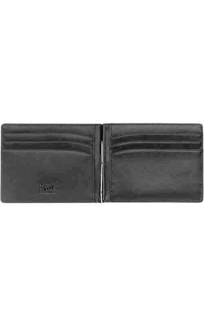 Montblanc Meisterstuck 6 Credit Cards with money clip wallet (05525)