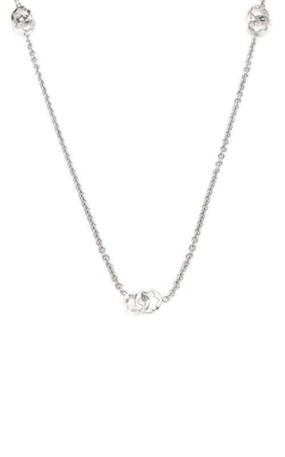 Montblanc Star Collection Signet Necklace Silver Ladies (33639)