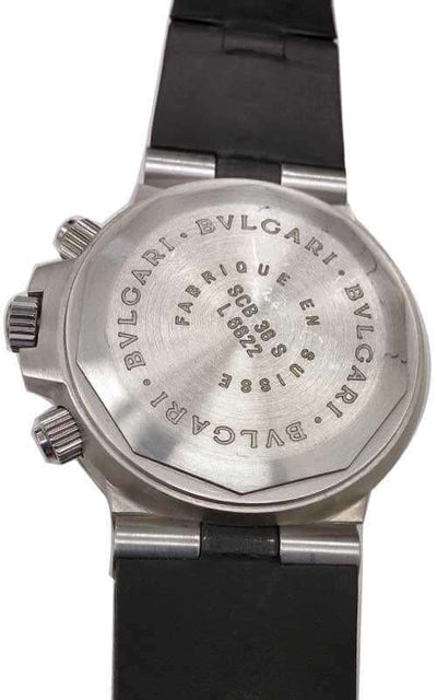 Bulgari Diagono Scuba Chronograph Mens Watch (SD38S) | Bandiera