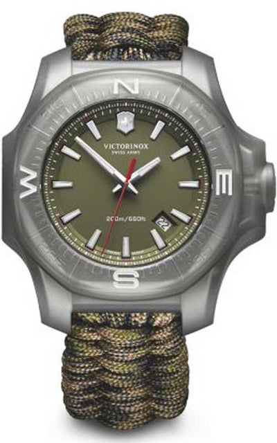 Victorinox Swiss Army Inox Carbon Watch (241727.1) Bandiera Jewellers