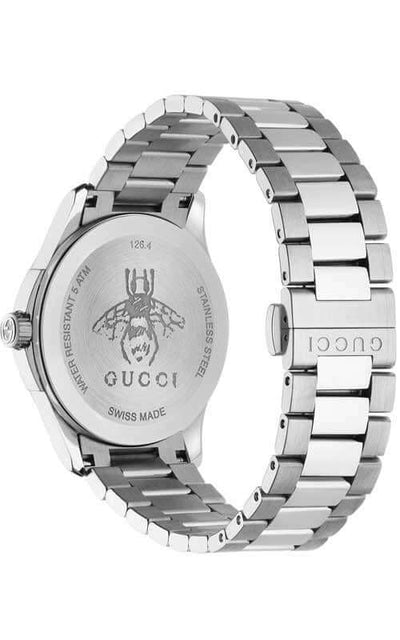 Gucci G-Timeless Diamante Ladies Watch (YA1264025) Bandiera Jewellers