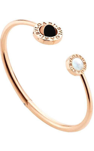 Bulgari Bvlgari-Bvlgari Gold Mother-of-Pearl Onyx Malachite 355275