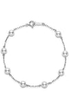 Mikimoto Tin Cup Bracelet White 5mm A+ (PD129K)