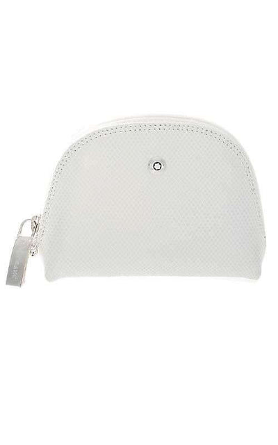 Montblanc La Vie de Boheme Cosmetic Pouch Small White Leather (101751)