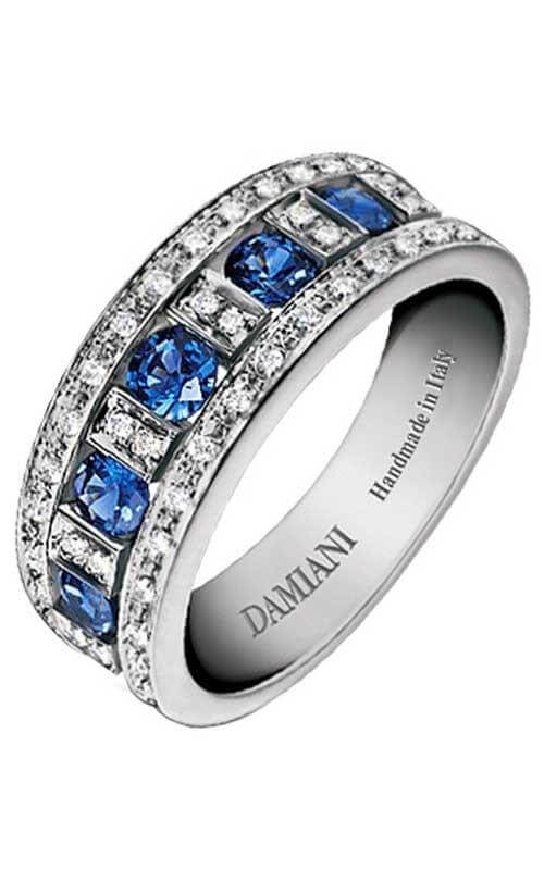 Damiani Belle Epoque Ring White Gold Diamonds And