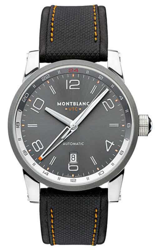 0b3cebc48b1 Montblanc Timewalker Voyager UTC Watch (109137)