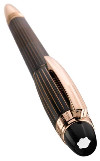 Montblanc Starwalker Red Gold and Black Lacquer Fountain Pen (106867)