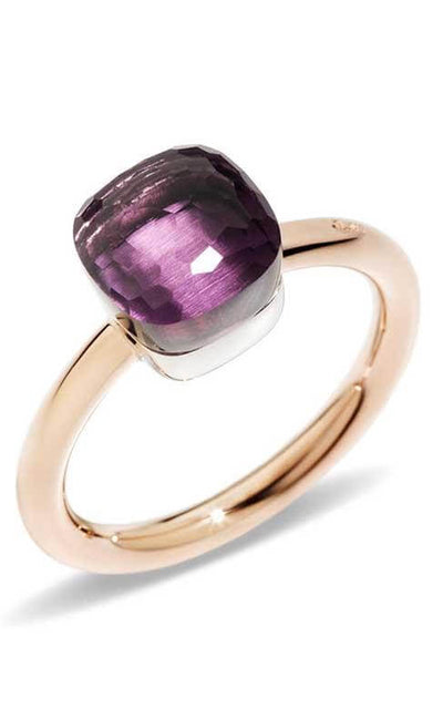 Pomellato Nudo Ring Rose Gold and Amethyst (A.B403/O6/OI)