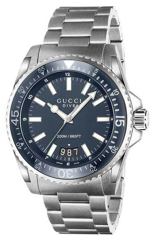 c495a2020e7 Gucci Dive XL Mens Watch (YA136203)