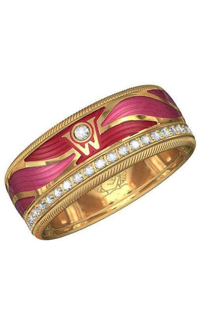 Wellendorff Life's Delight Gold and Diamonds Ring (607160) | Bandiera Jewellers Toronto