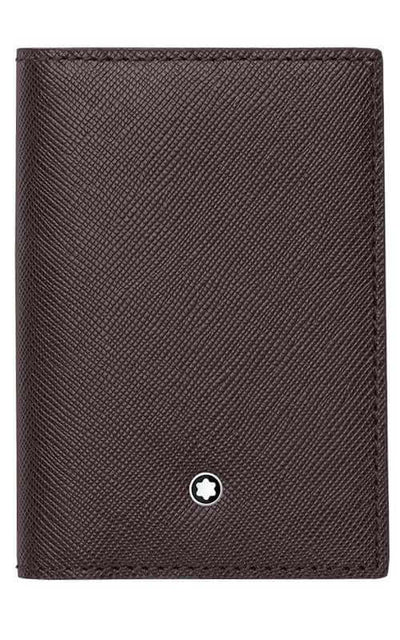 Montblanc Sartorial Business Card Holder Tobacco Leather (113224)