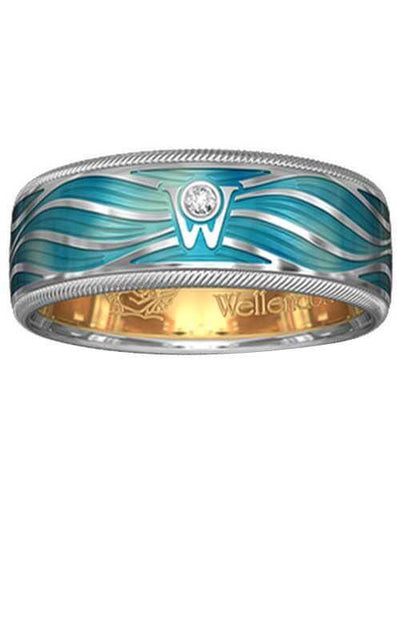Wellendorff Magic Waves Gold and Diamonds Ring (607154) | Bandiera Jewellers Toronto