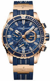 Ulysse Nardin Diver Chronograph Watch (1502-151-3/93) | Bandiera