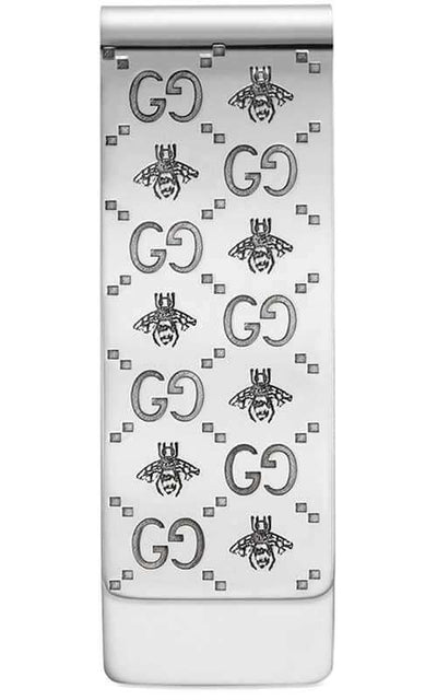 Gucci Interlocking G Money Clip Sterling Silver (YBF45588400100U)