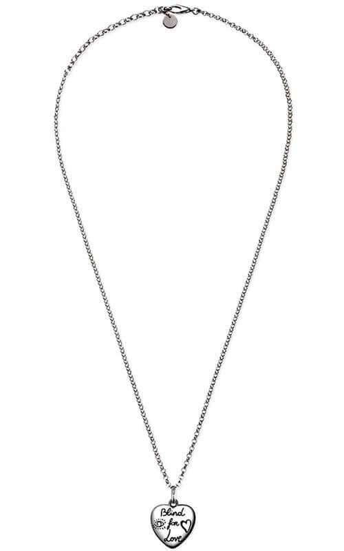 3954d12bd Gucci Blind for Love Necklace Silver (YBB45554200100U) | Bandiera ...