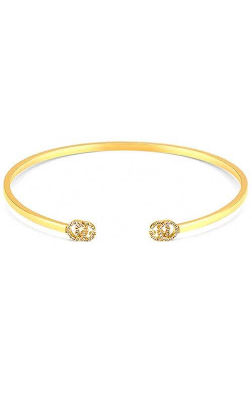 7e2c81386 Gucci Running G Bangle Yellow Gold and Diamond (YBA481662001016 ...