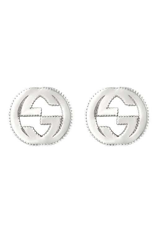5bb48c34cc1 Gucci Interlocking G Stud Earrings Sterling Silver (YBD47922700100U ...