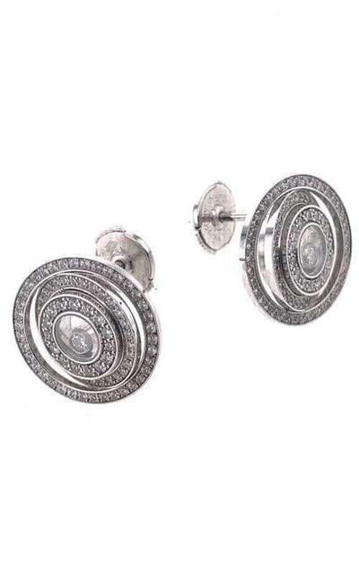 Chopard White Gold & Diamonds Earrings (BJ-CPO-CHOPARD-ER) | Bandiera