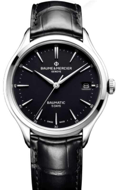 Baume et Mercier Clifton Baumatic Mens Watch (10399) | Bandiera Jewellers Toronto