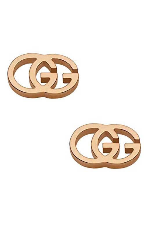890a2cc800a Gucci Interlocking G Gold Earrings (YBD09407400300U)