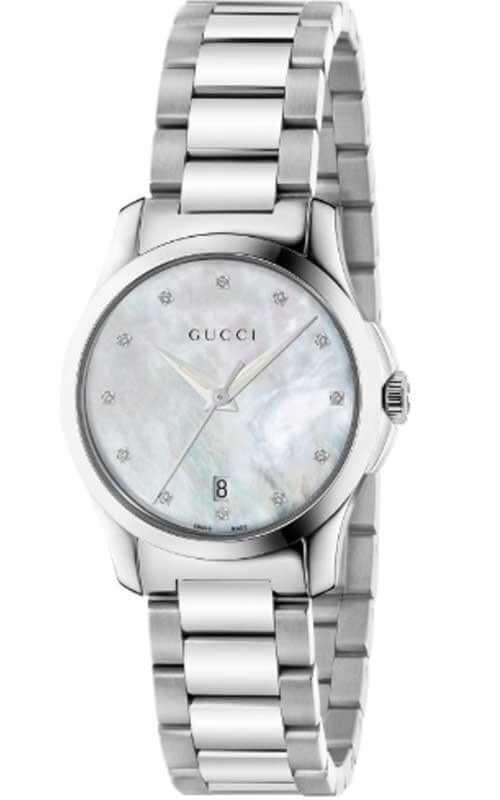 b6b76a9d3ba Gucci G-Timeless Ladies Watch (YA126542)