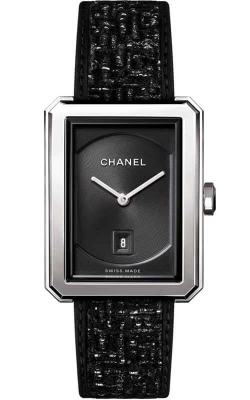 Chanel Boyfriend Tweed Medium Version Ladies Watch H5503