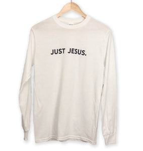 NEW - Just Jesus - Long Sleeve Unisex Tee