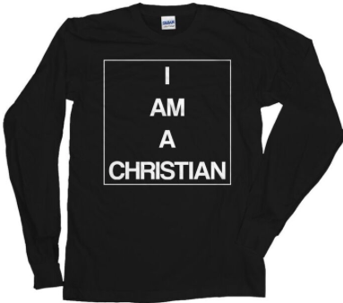 I AM A CHRISTIAN - UNISEX SWEATSHIRT