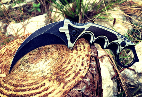 Karambit Black Laminate Real Life (IRL)