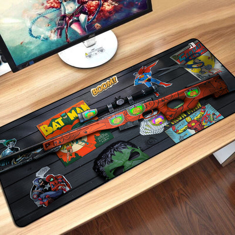 3D EFFECT TABLE MOUSEPAD | AWP BOOM