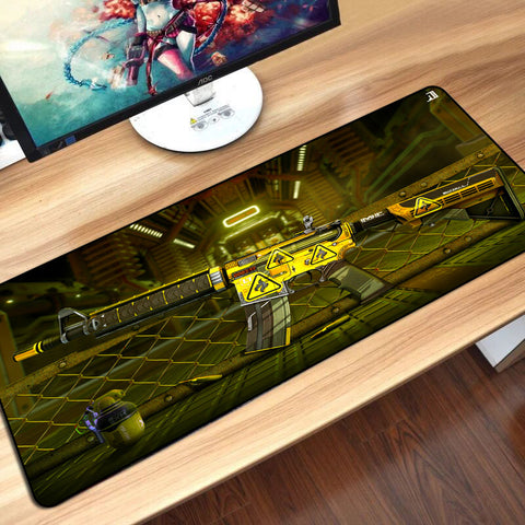 3D EFFECT TABLE MOUSEPAD | M4A4 BUZZKILL